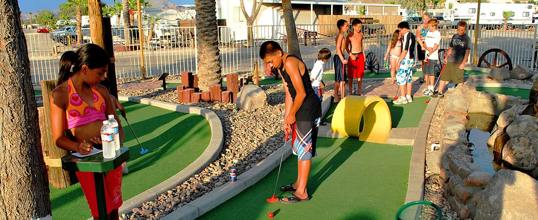 Emerald Cove Adventure Mini Golf