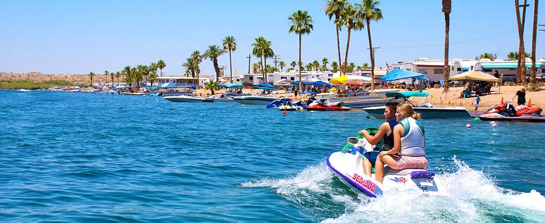 Waverrunner Fun at Emerald Cove Resort