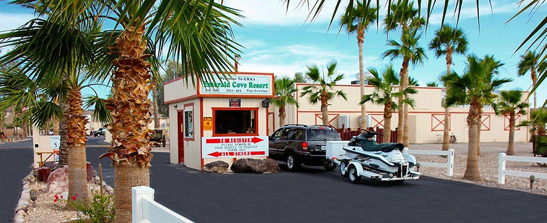 Emerald Cove Resort Security Gate