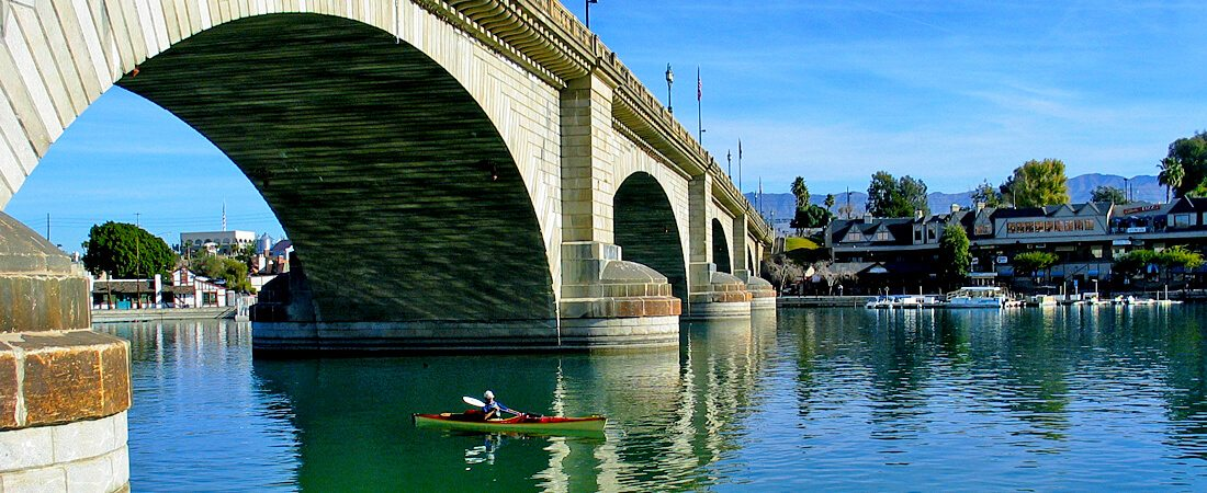 Londo Bridge in Lake Havasu City