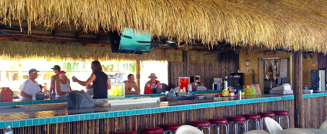 emerald cove resort tiki bar top